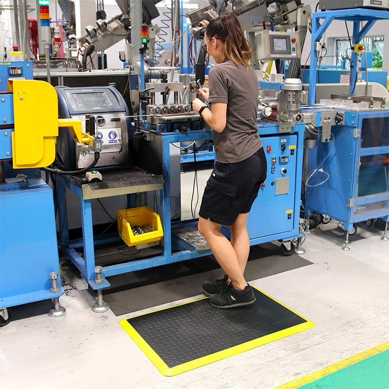 tapis anti fatigue ergonomique industriel usage ultra intensif