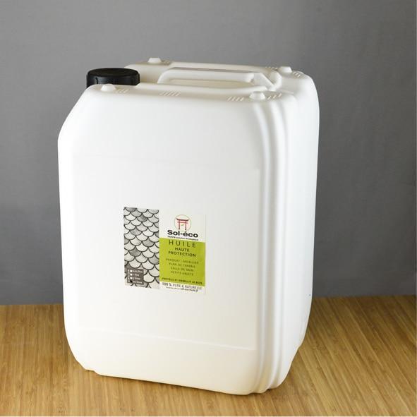 bidon d'huile haute protection pour bois 20 litres