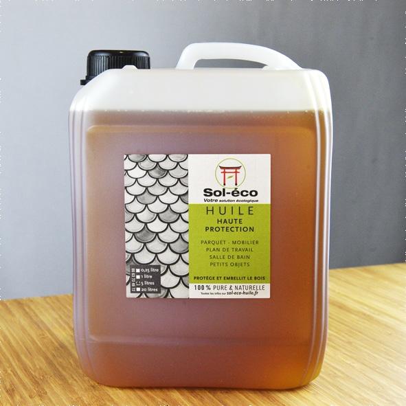bidon d'huile haute protection pour bois 5 litres