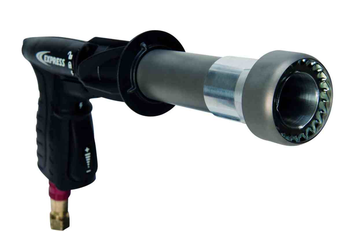 pistolet chalumeau raptor de face