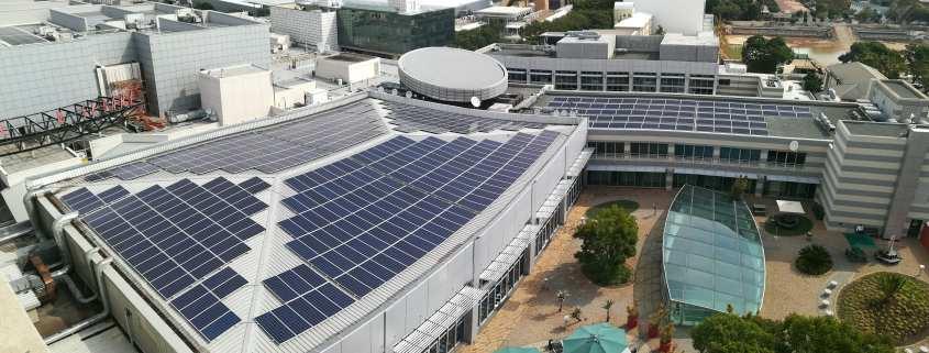 The Zone retail solar PV system Johannesburg