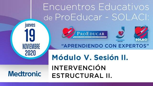 10° Encuentro Educativo ProEducar - Intervención Estructural II