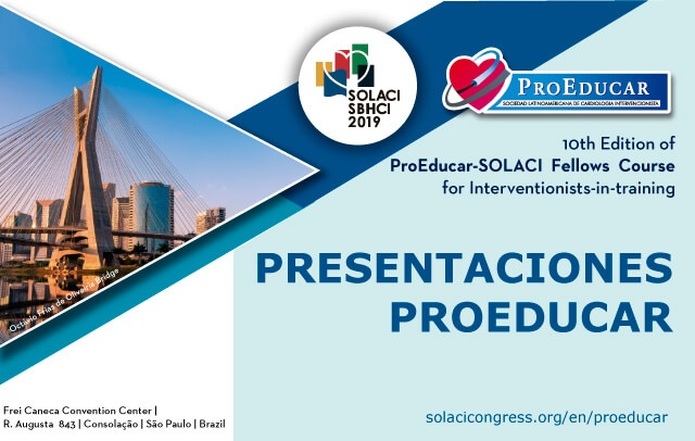 See the Presentations of the 10° ProEducar Fellow Course