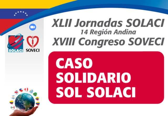 El programa SOL SOLACI participó en las Jornadas Venezuela 2021 con un nuevo caso solidario
