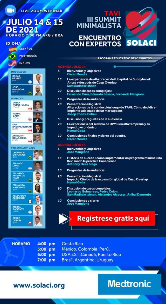 Webinar SOLACI Medtronic