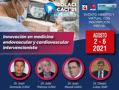 SOLACI-CACI 2021 Virtual | Sessão de inovações