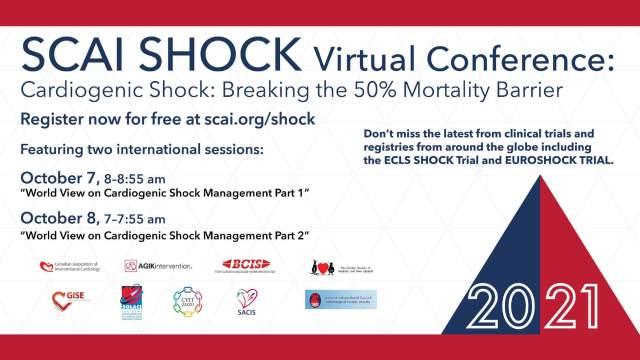 SCAI Shock Virtual Conference, con auspicio de SOLACI