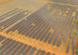 Solar for mines