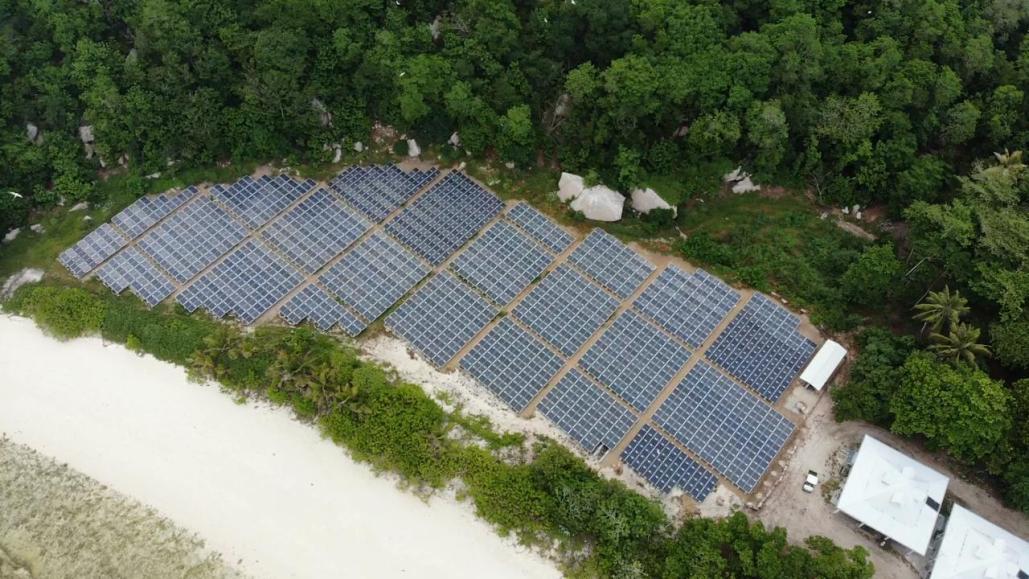 Cousine Island, Seychelles, Solar PV Microgrid