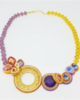 Création Solalbijoux collier Bollywood