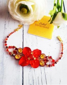 Solalbijoux bracelet Exhubérance florale