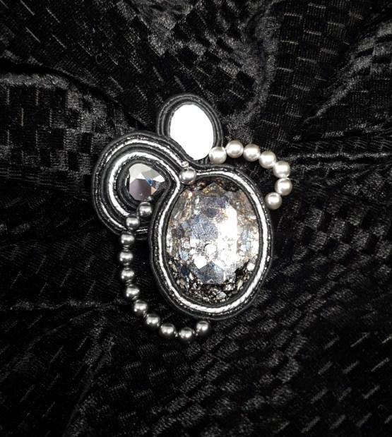 Solal Bijoux Haute Fantaisie bijou nomade noir et argent