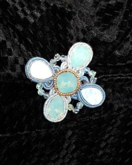 Solal Bijoux Haute Fantaisie bijou nomade turquoise et cuivré