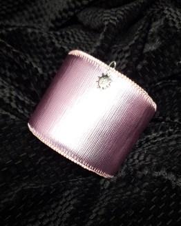 Solal Bijoux Haute Fantaisie manchette avec manchon réversible rose