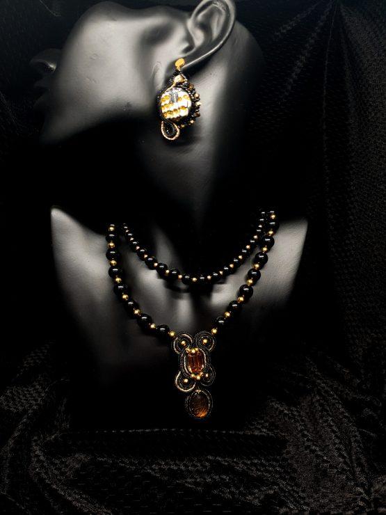 nouvelle collection noir et or Solal Bijoux Haute Fantaisie