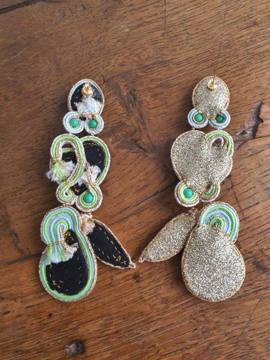 boucles d'oreilles pastel Solal Bijoux Haute Fantaisie