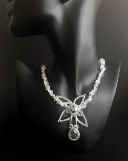 Collier étoile argentée Solal Bijoux Haute Fantaisie