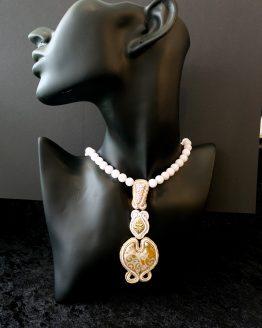 Collier lilas Solal Bijoux Haute Fantaisie