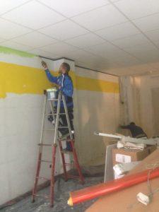 Trabajos de pintura interior