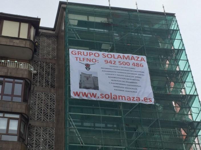 GRUPO SOLAMAZA Rehabilitación de fachadas en Cantabria