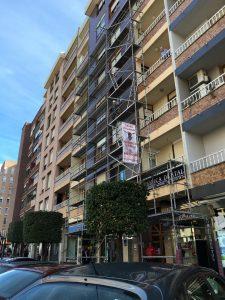 Rehabilitacion de fachadas en Maliaño Muriedas GRUPO SOLAMAZA