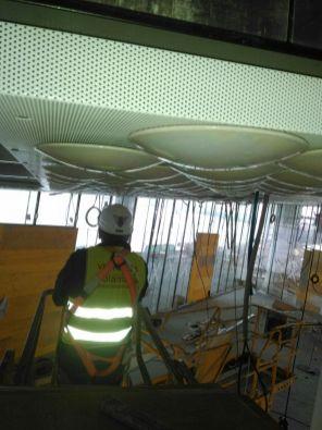 Instalación de techos mecanizados en Santander