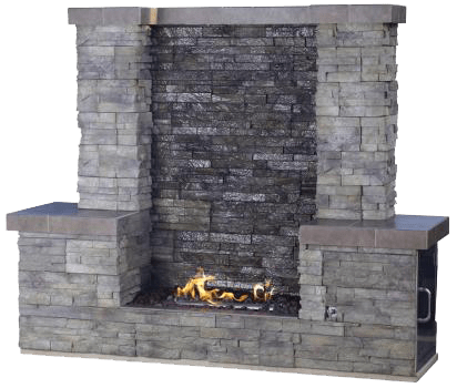 Fire Water Wall  Solana Outdoor Products