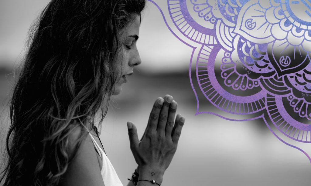 Peace mantra Om Shanti Image