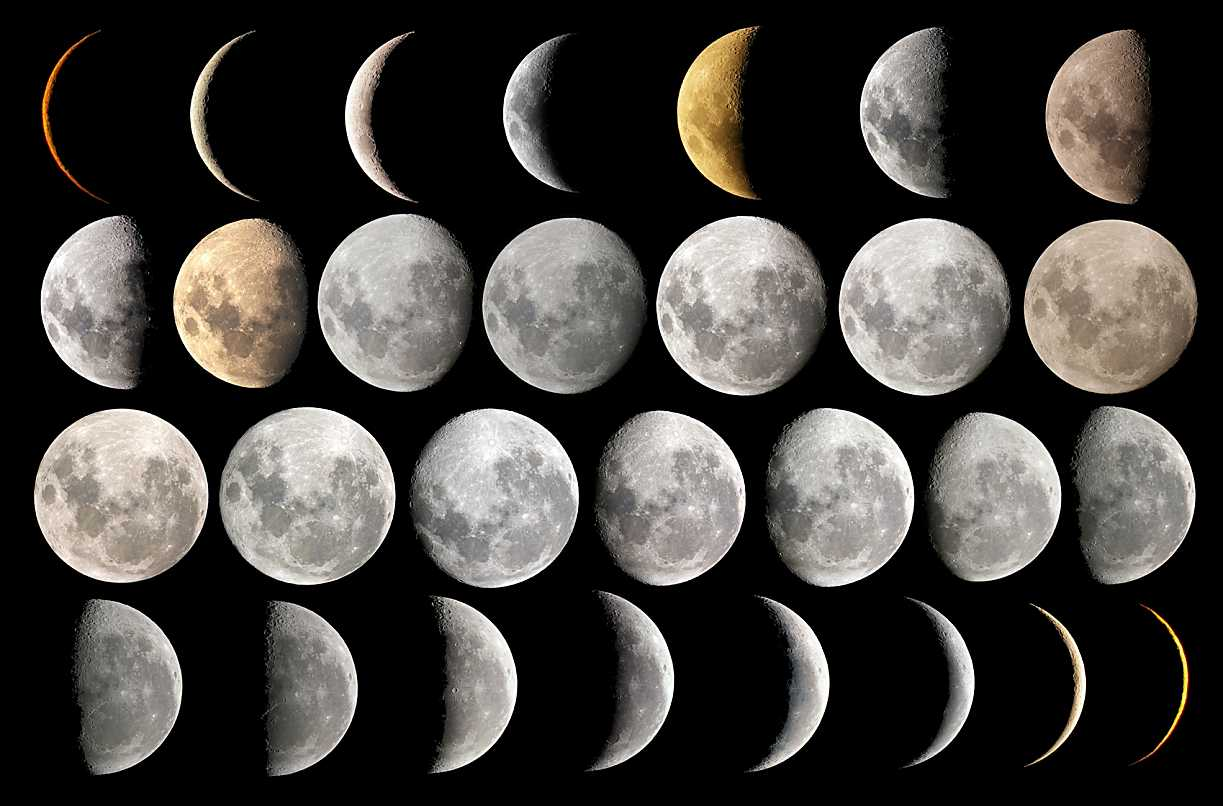 hight resolution of Teaching Moon Phases