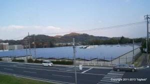 メガソーラー「鶴の浦ソーラーパワー」