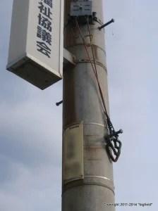 断路器の手動スイッチ(取っ手)