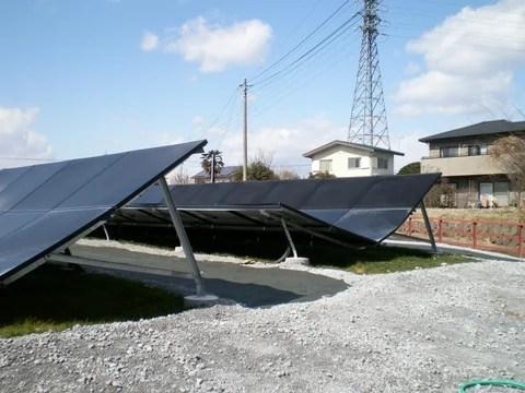 間違いだらけの太陽光発電用架台