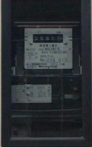 電力計の写真