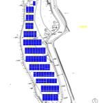 太陽光3号基のパネル配置:300枚入らない(汗)