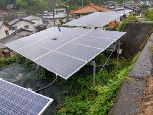 大竹市三ツ石町の太陽光発電所