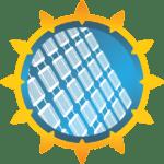 Солнце и солнечная панель - логотип сайта Solar-News.ru