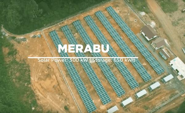 Индонезия ввела в строй 3 гибридные СЭС