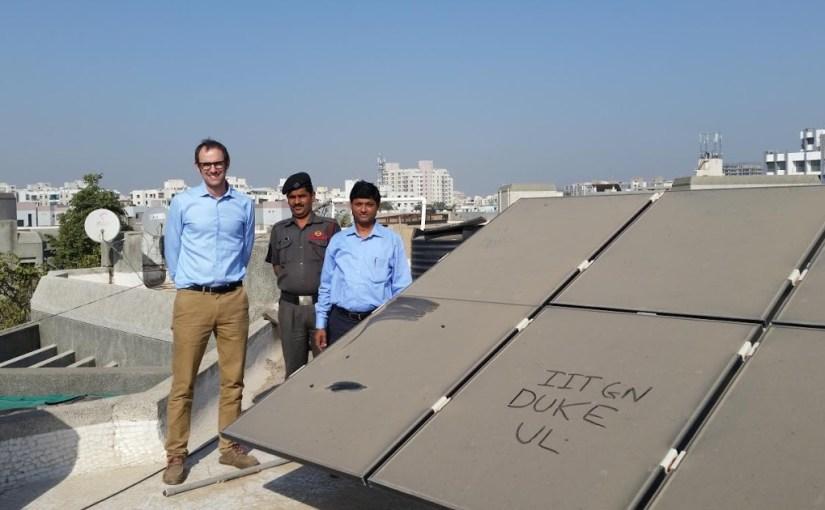 Индия загрязнение солнечных панелей