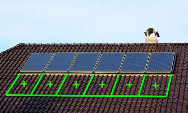 Наращивание мощности солнечных батарей на крыше