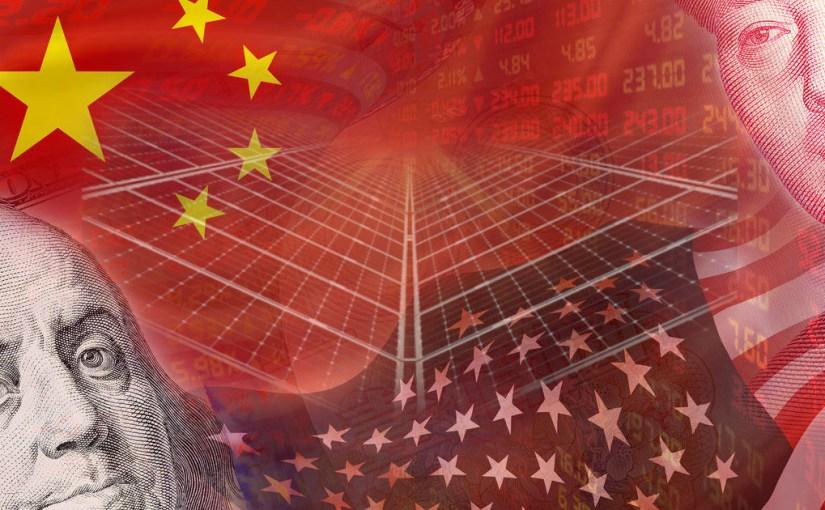Солнечная экономическая война США и Китая