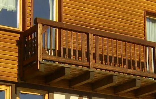 Holzbalkon Bausatz Produkte Leeb Balkone Und Zaune