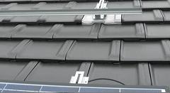 屋根瓦への設置
