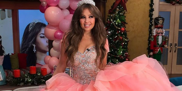 Thalía vuelve a ser 'Quinceañera'