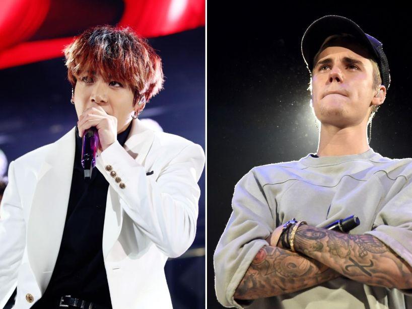 Jungkook de BTS grabó un cover de '10,000 Hours' de Justin Bieber