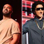 Drake y Bruno Mars podrían lanzar una canción juntos