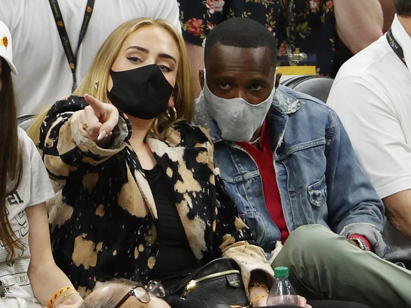 Adele estaría saliendo con Rich Paul