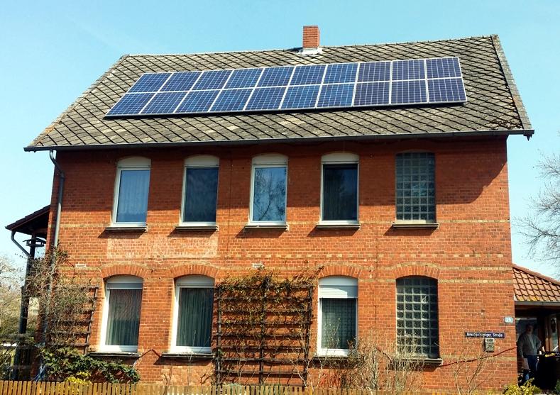 Solaranlage Photovoltaik in Wendeburg
