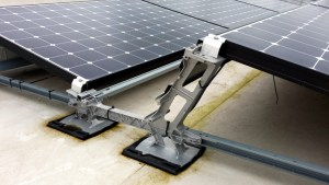 Hilti Aufständerung Solaranlage 1