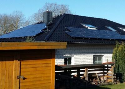 Solaranlage Photovoltaik in Rühen