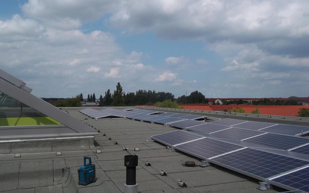 Solaranlage Referenzobjekt des Monats: Sekundarschulen in Burg und Gommern mit eigener Solarstrom Produktion